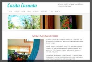 Casita Encanta Vacation Rental Website