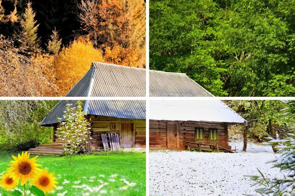 Marketing vacation rentals across four seasons