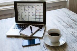 vacation rental blog calendar_258832757