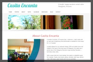 Casita Encanta Vacation Rental Website