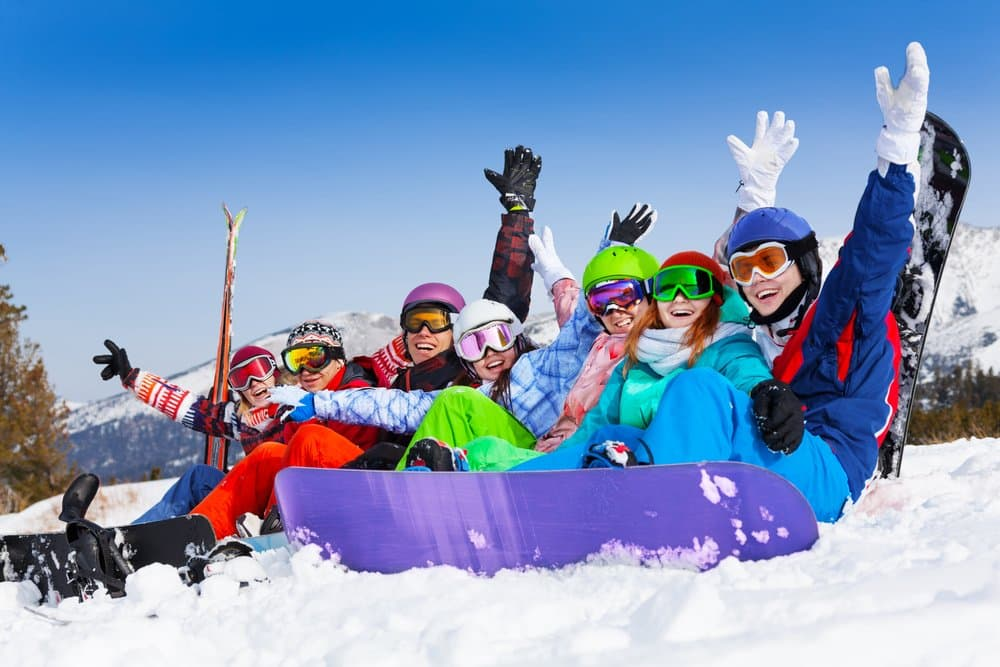 skiers happy_215040385
