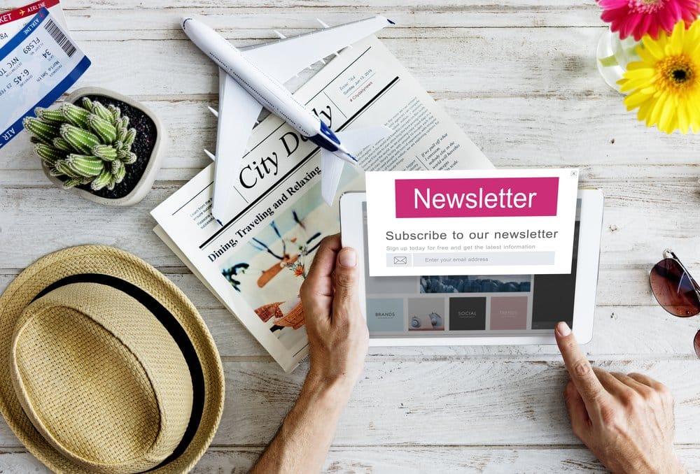 vacation rental newsletter