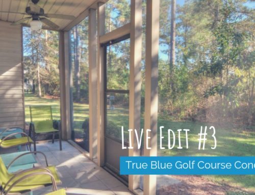 True Blue Golf Course Condo: Headline Live Edit