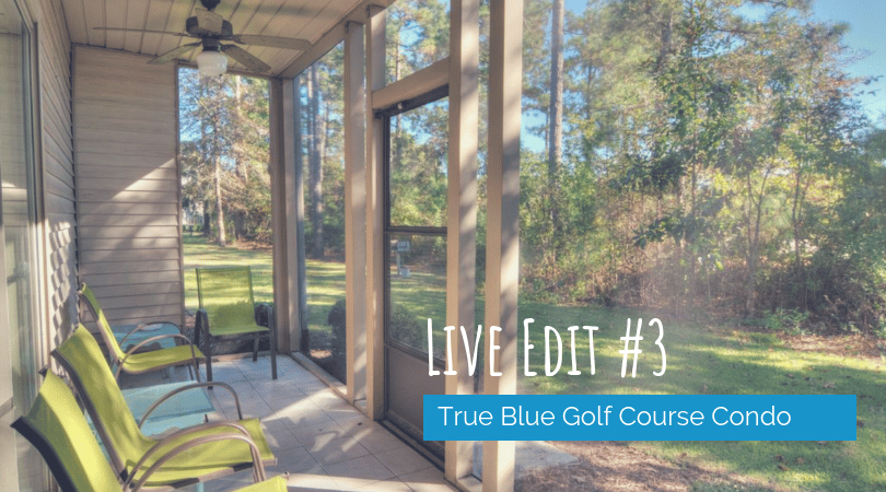 Live Edit True Blue Golf Course Condo