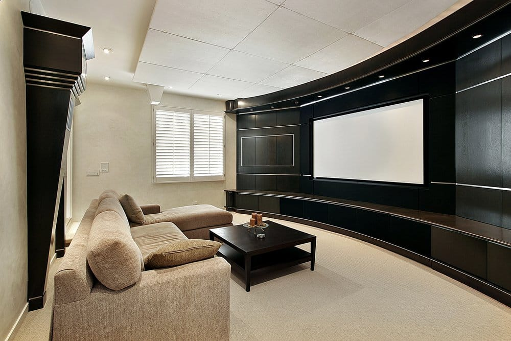 home theater amenities